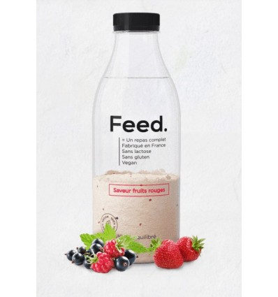 FEED BOISSON FRUITS ROUGES 150G