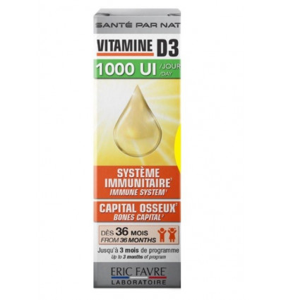 ERIC FAVRE VITAMINE D3 20 ML